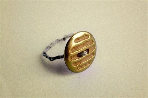 diy rings jewelry easy jewelry crafts for diy button rings in 3 steps