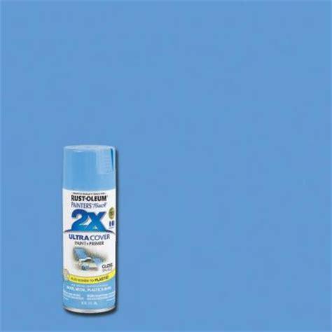 home depot spray paint blue rust oleum painter s touch 2x 12 oz gloss spa blue