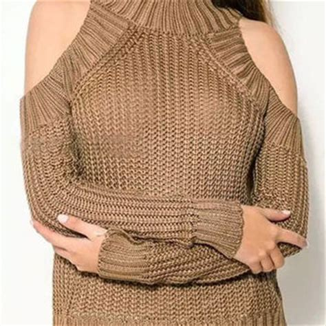 how to cut knitted sweaters shop cut out shoulder sweater on wanelo