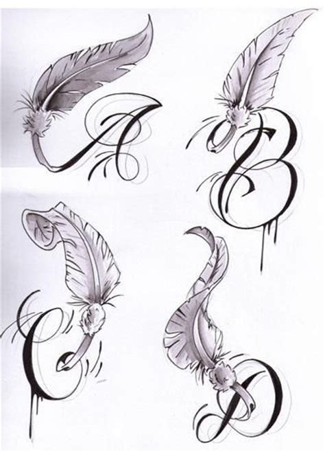 quot s quot letter tattoo initial letters with wings tattoos