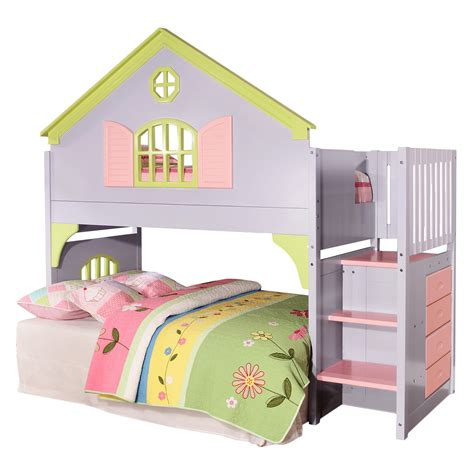 doll house loft bunk bed donco donco doll house loft bed reviews