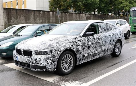 Bmw 5 Series Gt by 2018 Bmw 5 Series Gt Spied Again We Get A Glimpse Of The