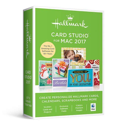 hallmark card software hallmark card studio 2017 for mac