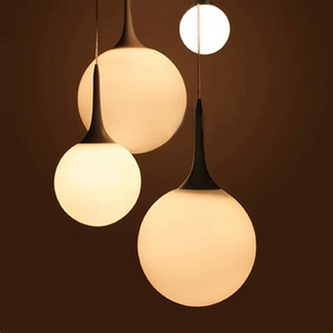 light sphere 25cm suspension pendant light spherical l modern