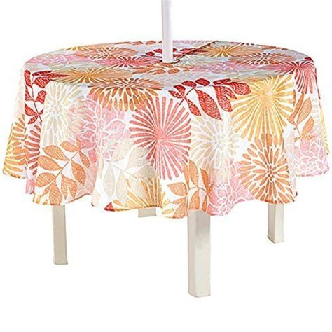 patio tablecloth with umbrella patio tablecloth with umbrella new home