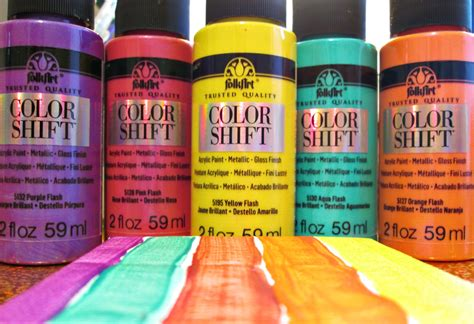 can folk acrylic paint be used on fabric folkart color shift paints the adventures of