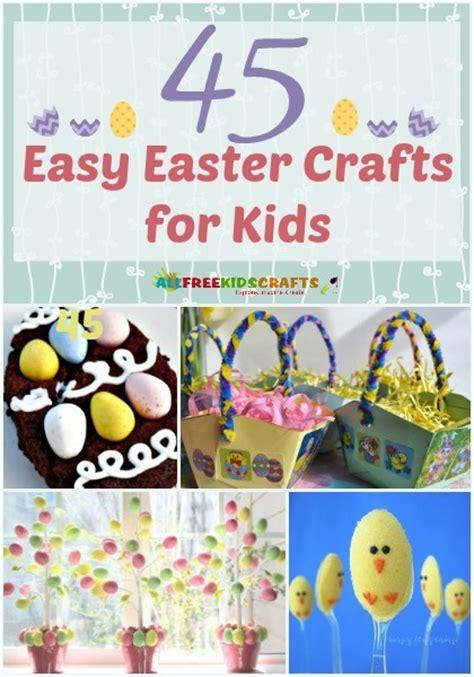 easy easter craft for 45 easy easter crafts for allfreekidscrafts