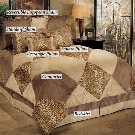 safari comforter sets safari patch 8 pc comforter bed set