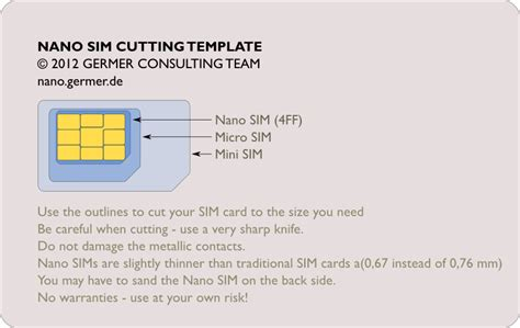 make your own sim card adapter cut your own nano sim nanosim