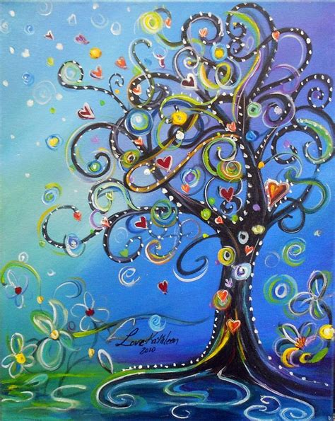 easy acrylic painting ideas trees 25 best ideas about easy acrylic paintings on