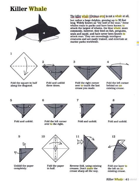 how to make an origami whale origami orca part 1 of 3 make sure to
