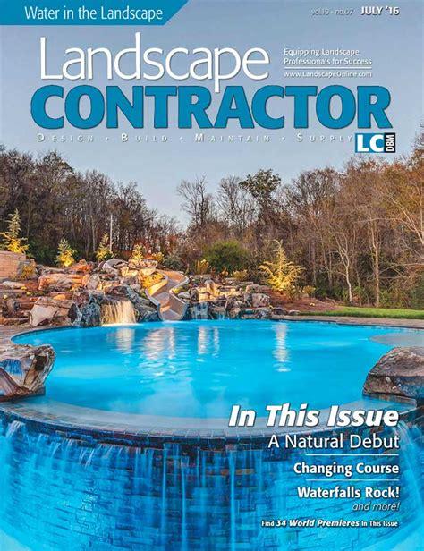 landscape contractor magazine landscaping