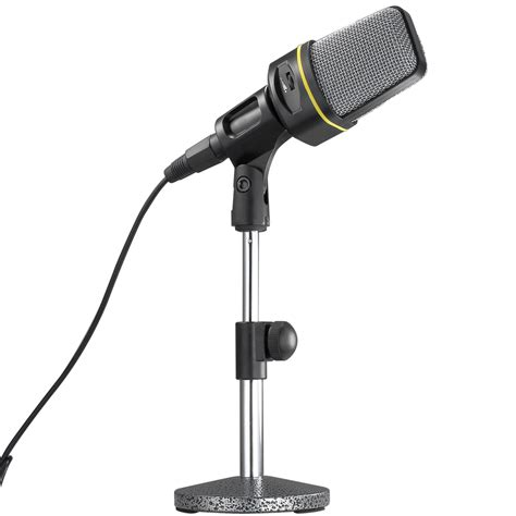 desk microphone stand black professional desk microphone stand adjustable height angle supprt nb102 ebay