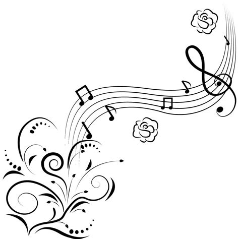 music notes free printable music note coloring pages for