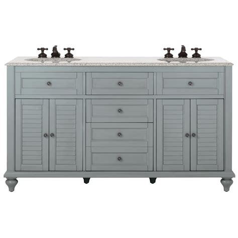 home decorators bathroom vanities home decorators collection hamilton 61 in w x 22 in d