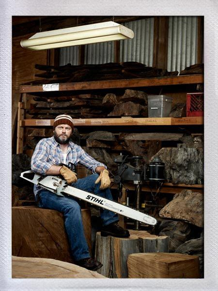 rec woodworking nick offerman swanson and parks and on
