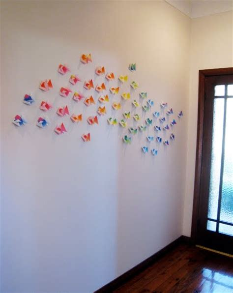 origami installation diy affordable part 3 origami we are scout