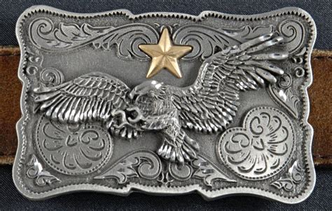 strait city image western eagle buckle ebw04