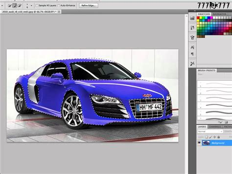 Car Wallpaper Tutorial by Adobe Photoshop Cs5 Tutorial How To Make A Colour