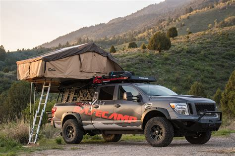 Nissan Titan Tent by This Out Nissan Titan Is A Go Anywhere Basec On