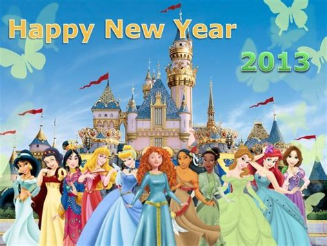 disney princess images happy new year hd wallpaper and