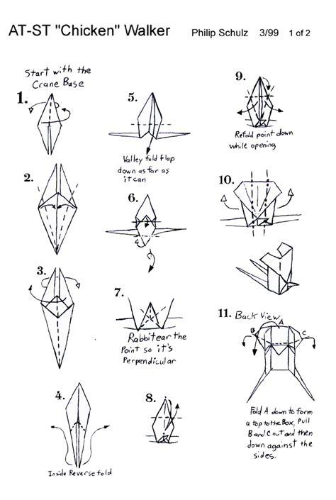 origami at at wars origami