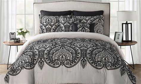comforter set deals paisley comforter set 7 groupon goods