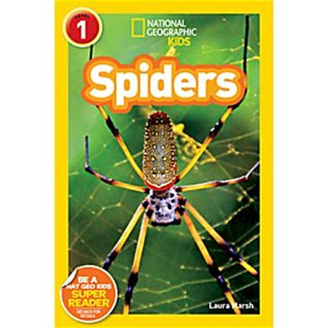 spider picture books national geographic readers spiders national geographic