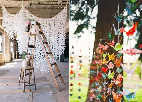 origami crane wedding how to make origami paper cranes for wedding backdrops