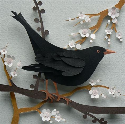 paper cutting craft work best 25 paper birds ideas on diy 3d decoupage