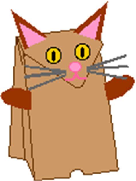 paper bag cat craft pattern for paper bag puppets new calendar template