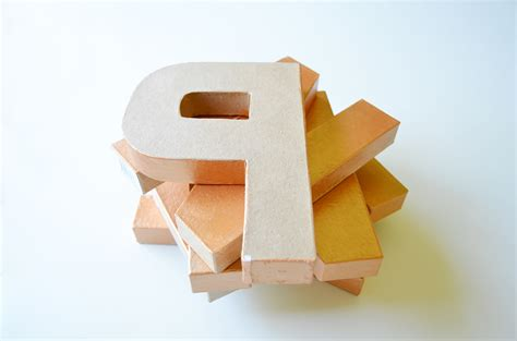 paper craft letters craft letters paper mache letters