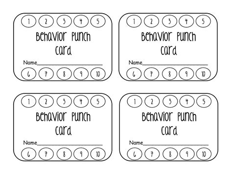 how to make a punch card punch card template bikeboulevardstucson