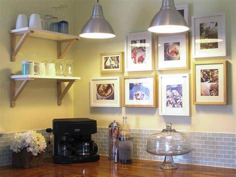 ideas to decorate kitchen walls 25 ways to dress up blank walls hgtv