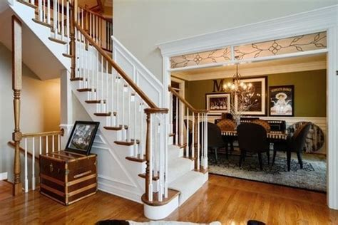 painting woodwork white is there a trend to paint interior stained wood trim white