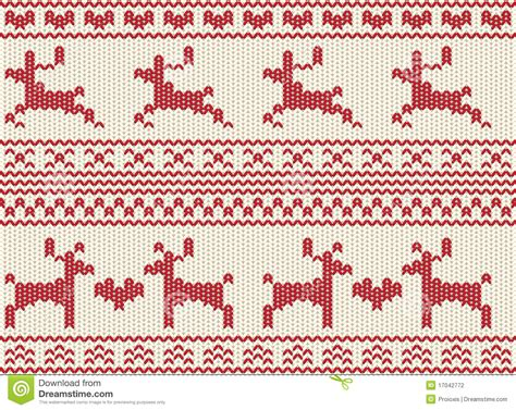 free fair isle knitting patterns seamless reindeer fair isle knit stock illustration