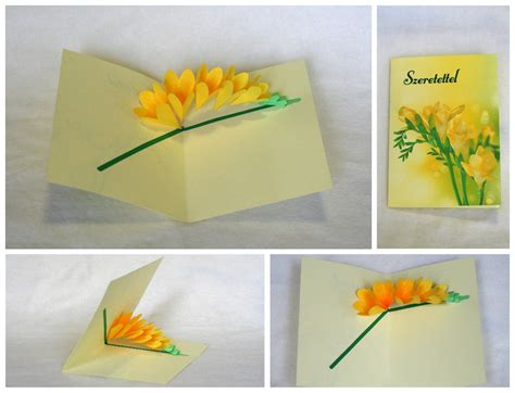 origami pop up flower flower pop up cards on behance