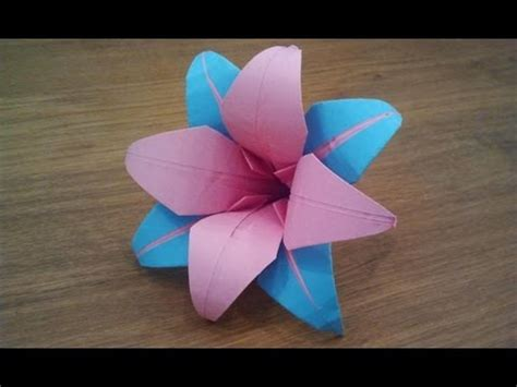 how to make flower origami how to make an origami flower