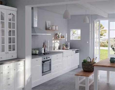 castorama cuisine authentik blanc une cuisine de charme revisit 233 e au go 251 t du jour cuisine