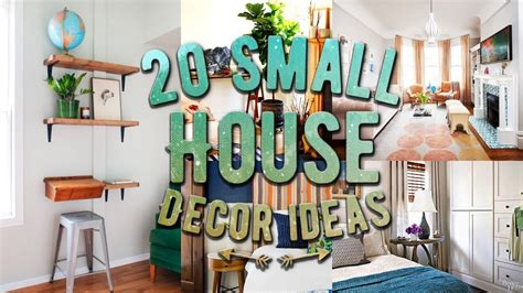 house home decor 20 small house decor ideas