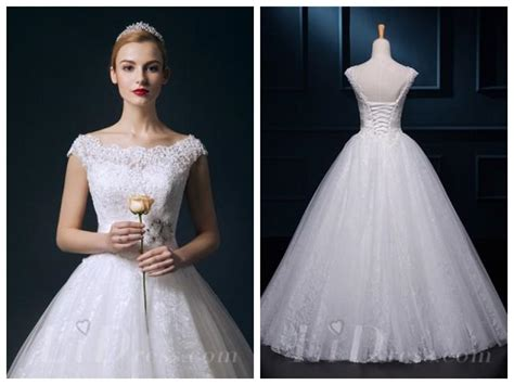 wedding dress beaded straps straps beaded lace gown wedding dress 2553689 weddbook