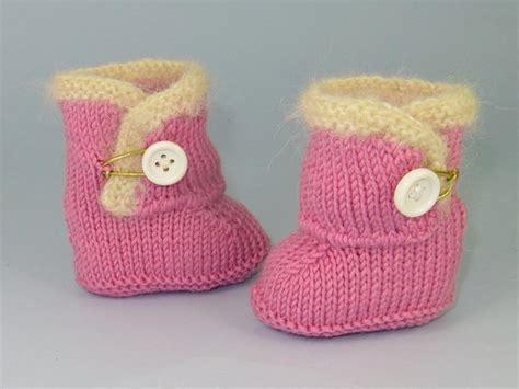 free baby boots knitting pattern baby shoe knitting patterns