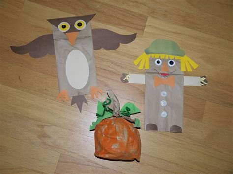 paper bag craft ideas fall paper bag crafts search