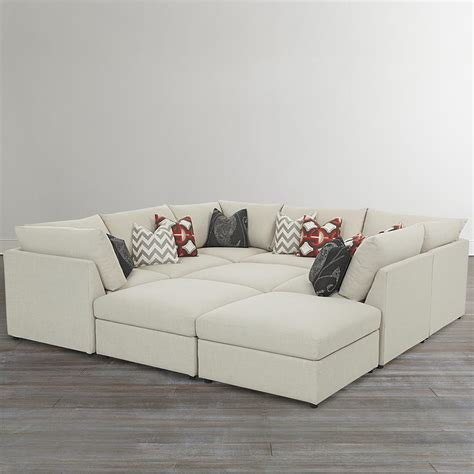 coolest sofa custom upholstered pit shaped sectional