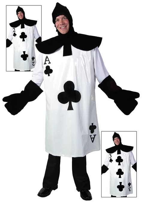 card costume how to make ace of clubs card costume
