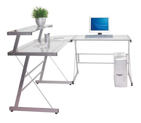 ikea glass corner desk glass corner desk for home office