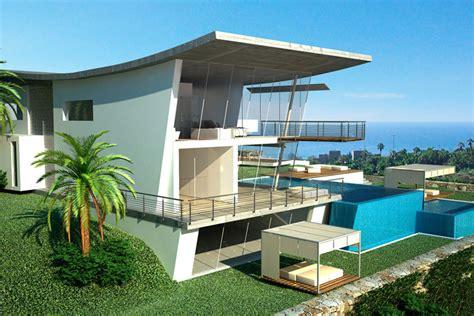 moderne villa new home designs modern villas designs ideas