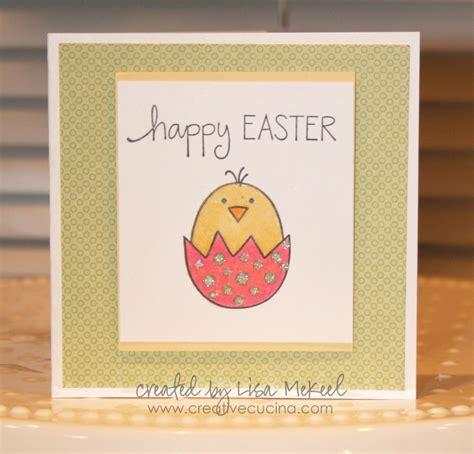 make a easter card easter cards in egg creative cucina