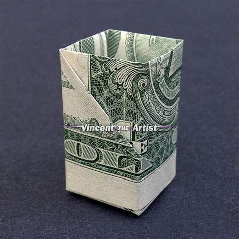 origami dollar bill box dollar bill origami paper clip box great gift idea