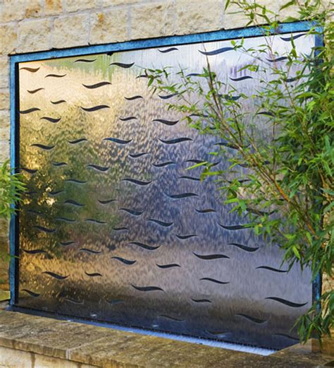 garden wall feature water wall features for the garden